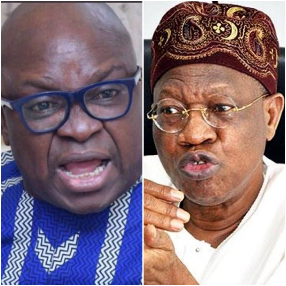 At 69, You Carry Evil In Your Brain And Vomit Evil Words – Fayose To Lai Mohammed