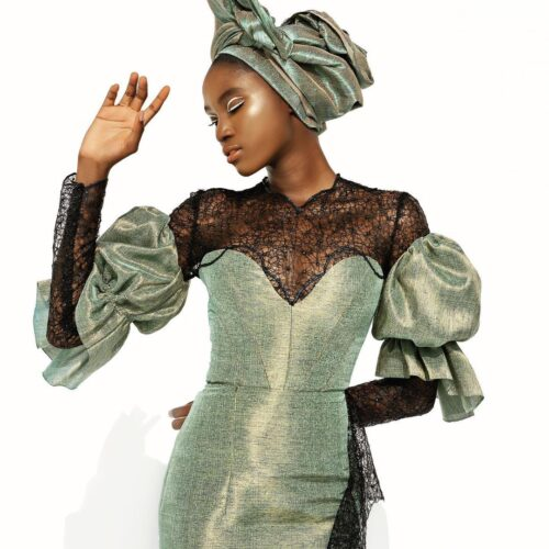 """Deola Sagoe Releases Lookbook To Latest Bridal Collection Dubbed """"Tropical Galactica"""""""