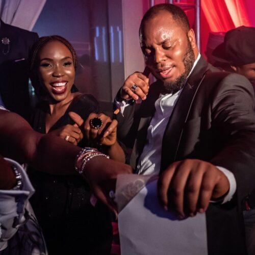 Issa Boy! Lala Akindoju And Chef Fregz Welcome Their First Child