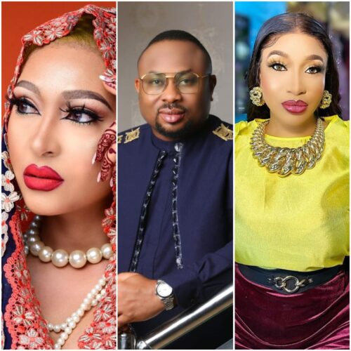 Rosy Meurer Shows Off Her Wedding Ring As Tonto Dikeh's Ex-husband, Churchill Declared They're Married