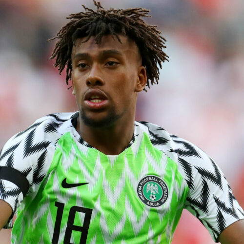 Alex Iwobi Leaves Super Eagles Training Camp After A Positive COVID-19 Test