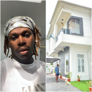Too Much Money! Fireboy Shows Off His New Mansion