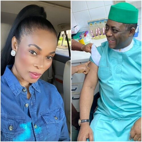 Good For Nothing Tout! Georgina Onuoha Slams FFK For Taking COVID19 Vaccine Months After Calling It Evil