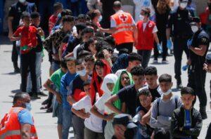 Migrant Crisis In Spain: Morroccan Teenagers Enter Spain Through Sea