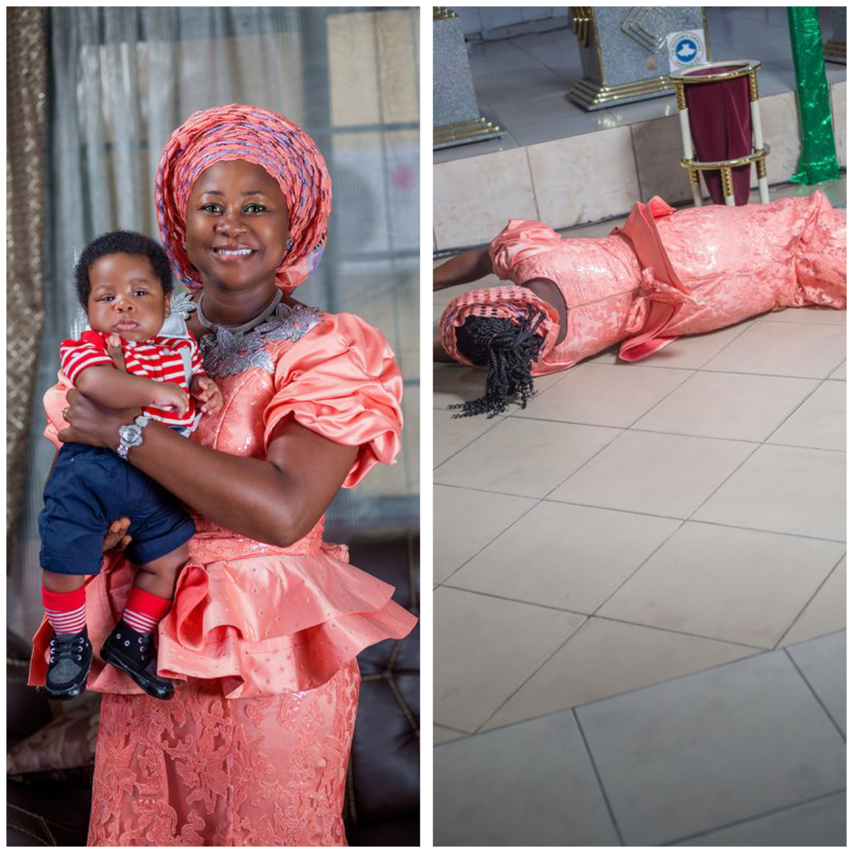 After 16 Years Of Waiting, Nigerian Woman Welcomes Her 2nd Child