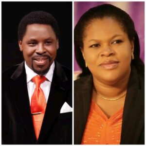 """""""He Was On The Chair Unconscious"""" TB Joshua's Wife, Evelyn Recalls Events Leading Up To His Death"""