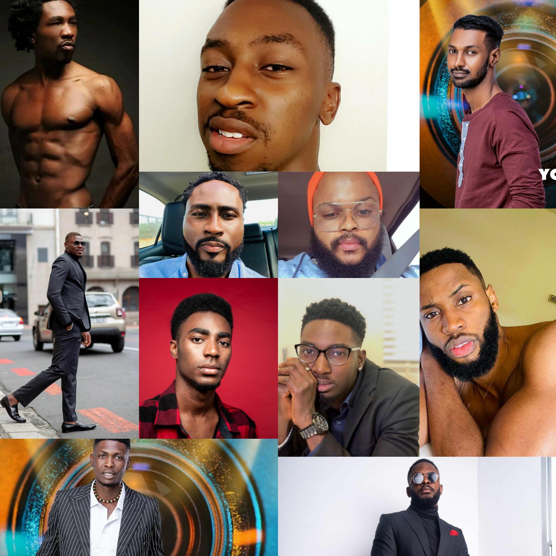 """Meet The Big Brother Naija 2021 """"Shine Ya Eye"""" Male Housemates"""