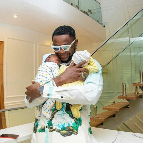 I Had Triplets, One Of Them Died – Kizz Daniel As His Twins Become House Owners