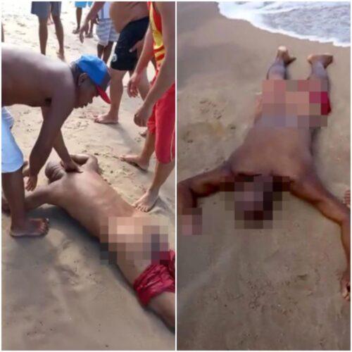 Shark Kills Drunk Man Who Walks Into The Ocean To Pee