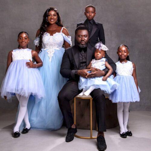10 Years Of Grace! Mercy Johnson And Prince Okojie Celebrate Wedding Anniversary