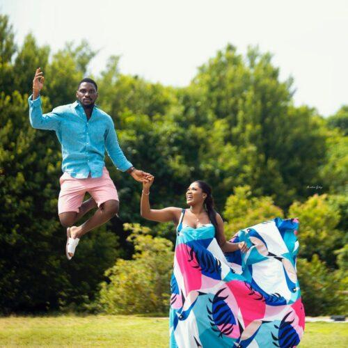 Tobi Bakre's Pre-wedding Photo Sparks A Flood Of Congratulations