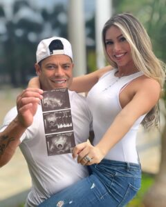 Brazilian Footballer, Hulk Announces He's Expecting A Child With His Niece